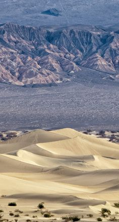 Mesquite Dunes in Death Valley, from a different point of view.