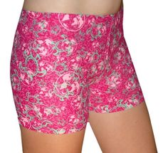 Stylish Juniors'/Women's Spandex Shorts in 6 Inch Inseam Made from Lightweight, Soft, & Quick Drying UPF 50+ Fabrics Made in USA