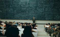 Salón Universitario #pizarra #blackboard #educación