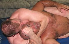 sleeper hold knocking out man gay dudes wrestling