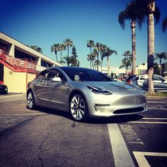 We took a ride in the new #Tesla Model 3 this weekend. Are we looking at the Model T of the 21st century?