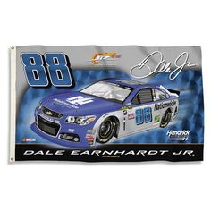 Dale Earnhardt JR NASCAR Flag