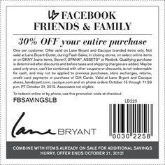Lane Bryant Coupons In Store   Lane Bryant Printable Coupons ...