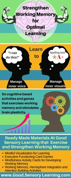 Learn how to exercise and strengthen working memory for optimal learning.