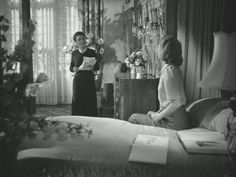 "A closer look inside the grand old house known as Manderley from Hitchcock's 1939 film ""Rebecca,"" based on the classic Daphne Du Maurier novel. Classic Literature, Classic Books, Classic Movies, Hitchcock Film, Alfred Hitchcock, Daphne Du Maurier, Famous Novels, Old Movie Posters, The Book Thief"