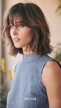 Long Bob Hairstyles 354799276899318064 wavy long bob haircut with bangs Sourc Wavy Bob Hairstyles bangs bob haircut Hairstyles long Sourc Wavy Long Bob Haircut With Bangs, Bob Hairstyles With Bangs, Long Bob Haircuts, Bangs Short Hair, Med Haircuts, Fringe Bob Haircut, Medium Bob With Bangs, Lob With Bangs, Short Bobs With Bangs