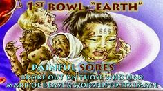 """1st VIAL of WRATH """"LAND"""" Revelation 16:2 2 The first angel went & poured out his bowl on the LAND, and UGLY, PAINFUL, FESTERING SORES BROKE OUT on the PEOPLE who had the MARK OF THE BEAST & WORSHIPED IT'S IMAGE. PAINFUL SORES INTENSIFIES in Vials 2, 3 , 4  & 5!!!"""