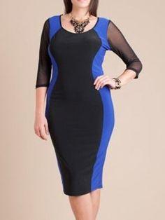 46 Best Plus Size Bodycon Dresses images  cbac9878ab88