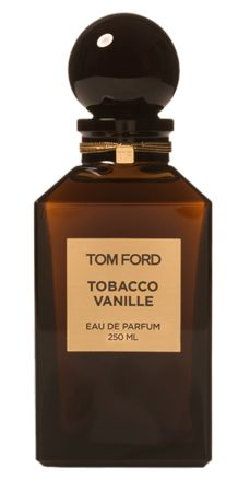 Tom Ford - Tobacco Vanille : Super warm and sexy fragrance. The tobacco is sweet and the vanilla is very dark, boozy, and smoky.