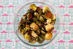 roasted brussel sprouts with a fig balsamic glaze