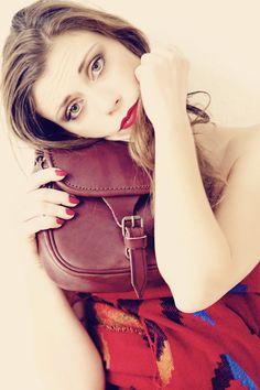 "Shooting for La Tolfetana ""Autumn/Winter Collection"".  Thanks to our favorite super Model Eva Lombardo and Photographer Claudia Bernhard. Visit The Shop Online www.latolfetana.com"