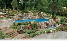 Unique Swimming Pools | Outdoor Living & Swimming Pools - Kevo Development Corporation manages ...