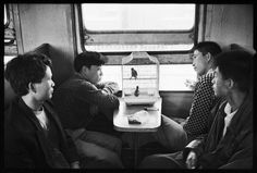 China. Photos of Chinese People on Trains, c.1970s //  Wang Fuchun