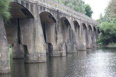 The Hawkesbury River Bridge at North Richmond, NSW