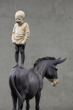 Wood Sculptures by Willy Verginer | iGNANT.de