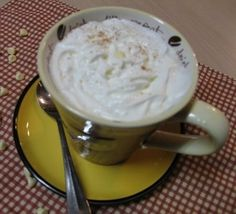 Copycat Starbucks White Chocolate Mocha... 2/3 cup whole milk, 6 tablespoons white chocolate chips, freshly strong brewed coffee to fill mugs or shot of espresso, whipped cream for topping, dash of cinnamon and optional white chocolate shavings for garnish.