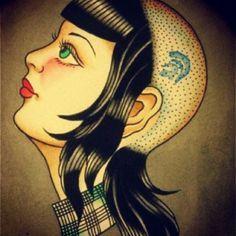 ... on Pinterest | Skinhead girl Skinhead reggae and King of kings tattoo