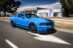 Grabber Blue Three-Valve 2005 Ford Mustang GT Built for Show & Go