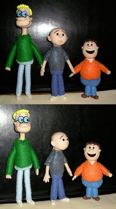 The Ricky Gervais Show Dolls