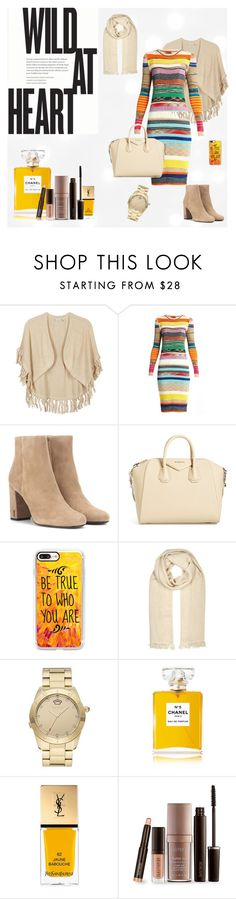 """Saint Laurent"" by suljic-melika ❤ liked on Polyvore featuring Kinross, Missoni, Yves Saint Laurent, Givenchy, Casetify, Étoile Isabel Marant, Juicy Couture, Chanel, Laura Mercier and colorchallenge"