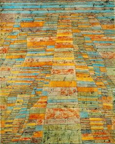 Discover Highway and Byways by abstract artist, Paul Klee. Framed and unframed Paul Klee prints, posters and stretched canvases. Wassily Kandinsky, Museum Ludwig, Paul Klee Art, Bauhaus Art, Piet Mondrian, Art Abstrait, Famous Artists, Oeuvre D'art, Les Oeuvres