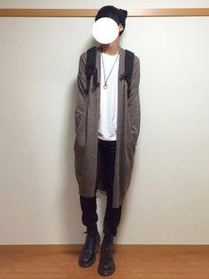 新しいマーチン。 GUのレディースコーディガン。 いんすた:dai_wear おわり。