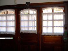 elegantes y delicados visillos perfectos para ventanas pequeas https