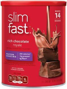 SlimFast 3.2.1. Plan, Chocolate Royal... $17.99