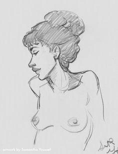 Samantha Youssef: Dibujo de la vida