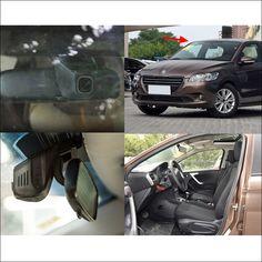 For Peugeot 301 APP Control Car wifi DVR Driving Video Recorder Novatek 96655 Car Dash Camera FHD 1080P Car Black Box
