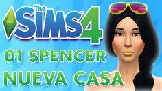 Los Sims 4 ¿Quedamos? MP 01 SPENCER ♣NUEVA CASA♣ ♥tesasims♥