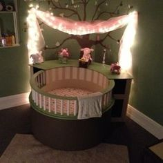 Check out this project on RYOBI Nation - My Girlfriend and I were expecting a baby and wanted something a little different then your average Crib. While scrolling through Pintrest for nursery room ideas we stumbled across a picture of a amazing crib and new exactly what we wanted. I had roughly 8 months to complete this project and no idea where or how to start. It was a very slow start of building pieces and taking it apart to get it all to work. After a few months of working on it, it all…