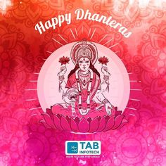 TAB Infotech wishes you a very #HappyDhanteras !! Wish u 2 reach new heights of #success & unlock new #ventures of #fortune !!
