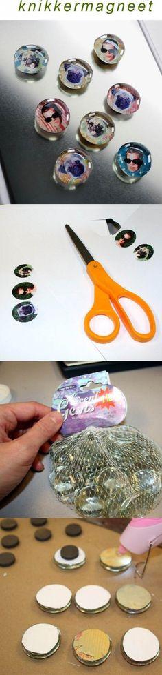 knikkermagneten maken! Leuk voor allerlei doelgroepen als cadeau of activiteit :)