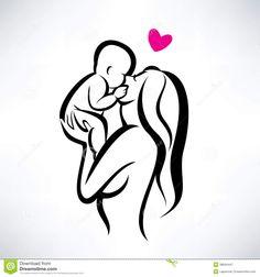 desenho mae e filha tattoo ile ilgili görsel sonucu Mommy Tattoos, Mother Son Tattoos, Baby Tattoos, Future Tattoos, New Tattoos, Tatoos, Family Tattoos, Print Tattoos, Child Tattoos