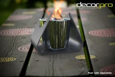New Deals for Taurus Bio-Ethanol Tabletop Fireplace By  Tabletop Fireplaces, Bioethanol Fireplace, Fireplace Outdoor, Pillar Candle Holders, Pillar Candles, Outdoor Table Tops, Cool Tech Gadgets, Office Gadgets, Indoor Outdoor