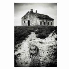 Charo Diez (@charo_diez) photographs her daughter. To submit your images for consideration on our feed follow @childhoodeveryday and tag your photos #childhoodeveryday. // #blackandwhiteisworththefight #blackandwhite #monochrome #monochromatic #fineartphotography #artphotography #contemporaryphotography #portrait #Palencia #spain
