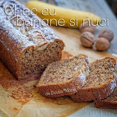 Din bucătăria mea: Chec cu banane si nuci Best Pastry Recipe, Pastry Recipes, Cake Recipes, Beautiful Pie Crusts, How To Make Pie, Funny Cake, No Cook Desserts, Food Cakes, Banana Bread