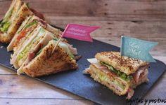 Sándwich Club - Eureka Recetas