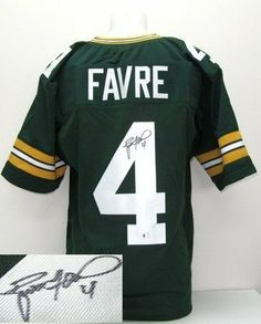 Fan Shop - Sports Collectibles · Brett Favre Signed Autographed Green Bay  Packers Jersey Favre Holo Proof .  249.00. 5865db765