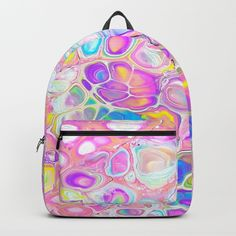 """Designing our premium Backpacks is a meticulous process, as Artists have to lay out their artwork on each component. One size fits all men and women, with heavy-duty construction that's able to handle the heavy lifting for all your school and travel needs.     - Standard unisex size: 17.75"""" (H) x 12.25"""" (W) x 5.75"""" (D)   - Crafted with durable spun poly fabric for high print quality   - Interior pocket fits up to 15"""" laptop   - Padded nylon back and bottom   - Adjustable shoulder straps…"""