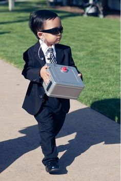 Secret Agent Ring Bearer