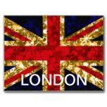 Union Jack glitz postcard