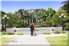Morgan & Michael's Beverly Hills/Hollywood Engagement Session