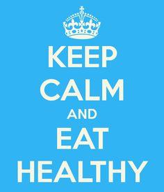 Keep Calm and Eat Healthy #tweetwhatyoueat #isagenix http://donnalsanford.isagenix.com/
