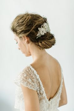 Hair + Makeup: TEAM Hair and Makeup - http://www.teamhairandmakeupservice.com Wedding Dress: Elizabeth Fillmore - http://elizabethfillmorebridal.com/ Wedding Dress: Lihi Hod - http://www.lihihod.com/   Read More on SMP: http://www.stylemepretty.com/2016/12/09/2017-bridal-hair-makeup-beauty-looks/