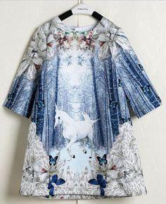 Pinkvanille.ch Einhornkleid für Mädchen Kleid mit Einhorn Hochzeitskleid für Mädchen Blumenmädchenkleid Brautmädchenkleid Festmode für Kinder Prinzessinnenkleid