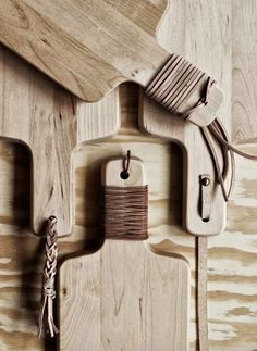 DIY Cutting Boards Dressed in Leather | Remodelista #Anthropologie #Pintowin