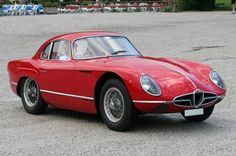 1954 Alfa Romeo 2000 Sportiva Coupe by Franco Scaglione (Bertone). Only two cars were built