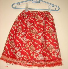 Adithis Amma Sews - Cute Confessions of a Sew Addict: Patternless Skirt in under 15 minutes - Tutorial